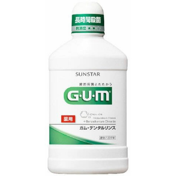 GUM ガム デンタルリンス レギュラー 500ml