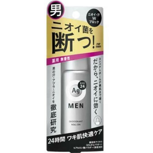AGデオ24 メンズデオドラント ロールオン 無香性 60ml