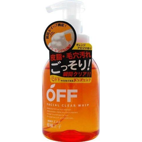 柑橘王子 フェイシャルクリアホイップ 360ml