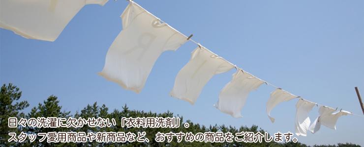 衣料用洗剤特集